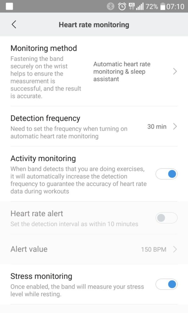 monitorizare puls ritm cardiac bratara fitness