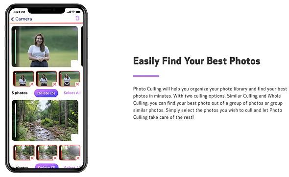 Canon Photo Culling aplicatie inteligenta artificiala selectie poze bune telefon