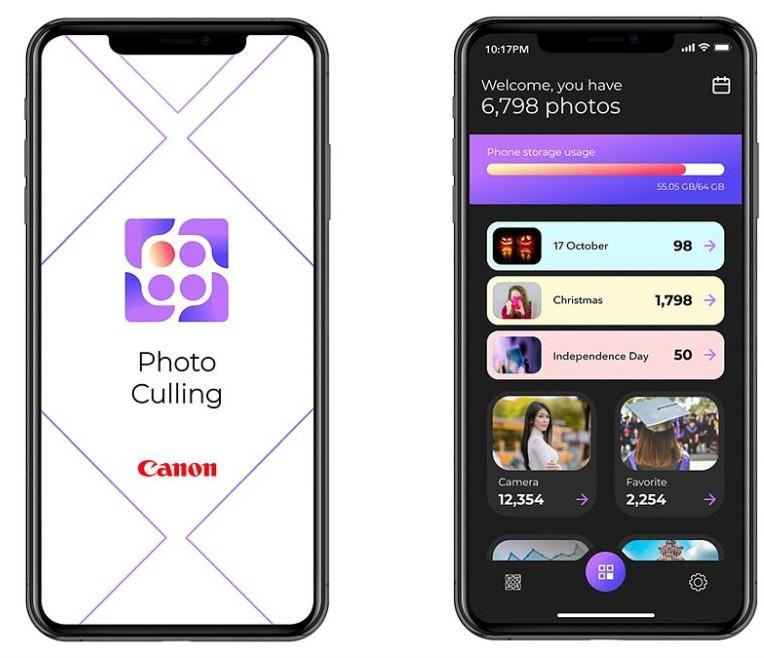 Canon Photo Culling aplicatie selectie poze bune telefon mobil