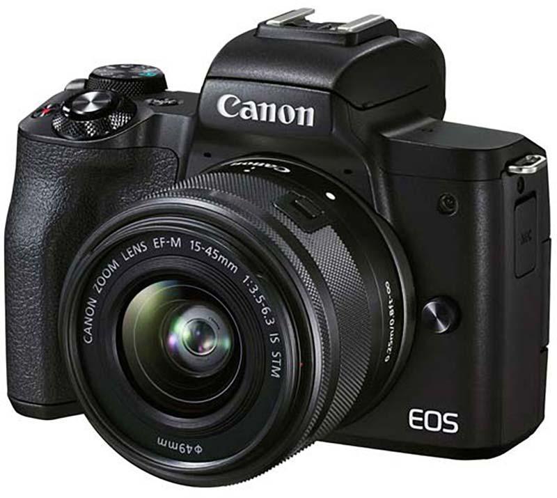 Canon EOS M50 Mark II poza aparat foto mirrorless scoila media