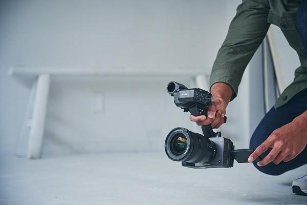 camera video profesionala senzor full frame sony