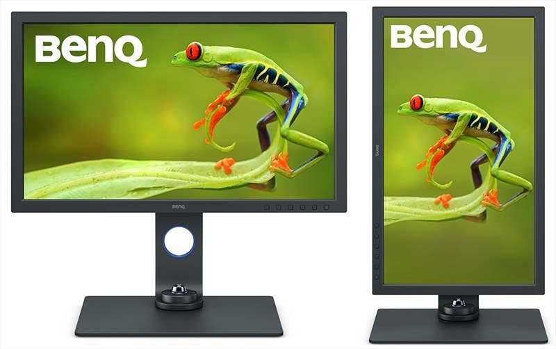 monitor 4k orizontala verticala editare foto video grafica