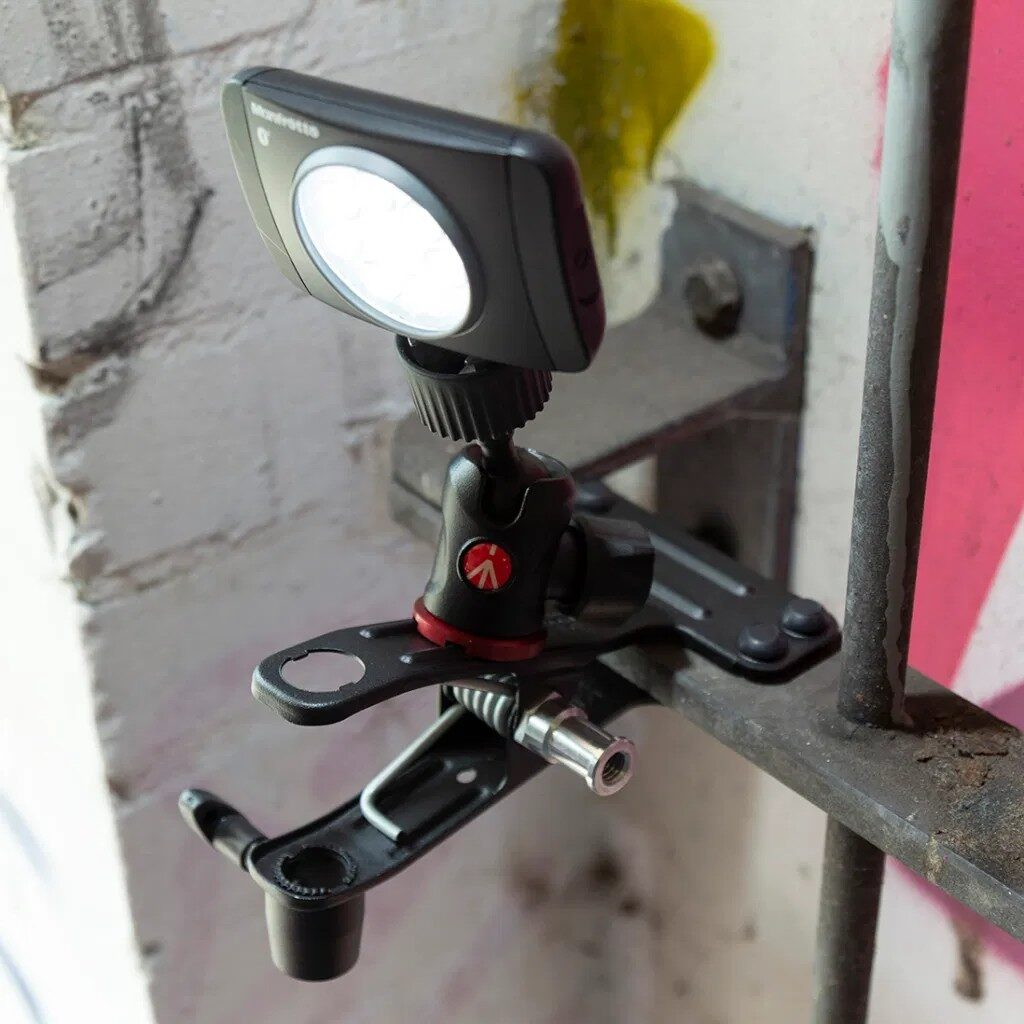 Manfrotto Spring Clamp 175F-2 lumina led
