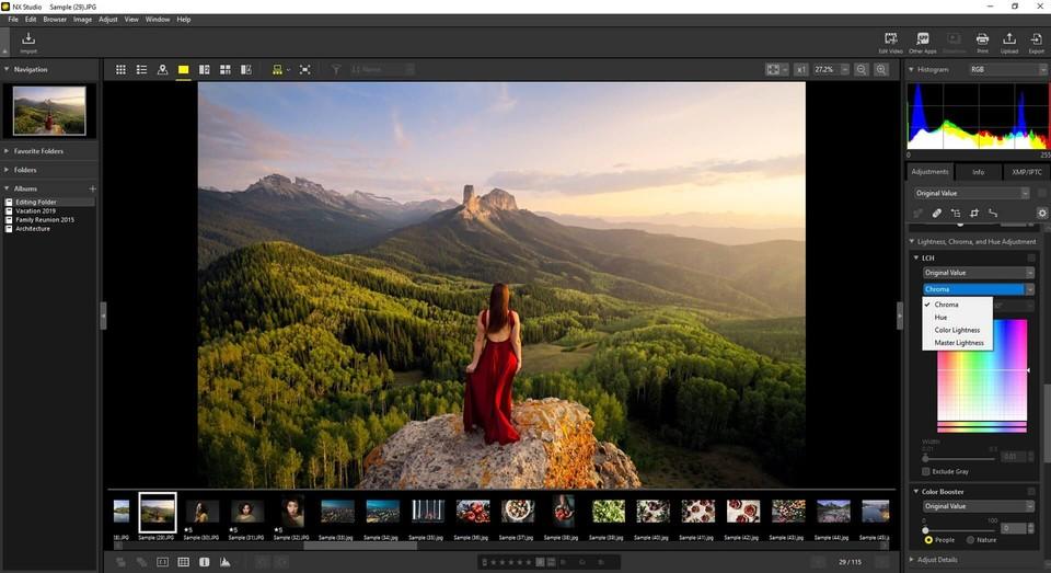 Nikon NX Studio program gratuit prelucrea fotografii editare foto