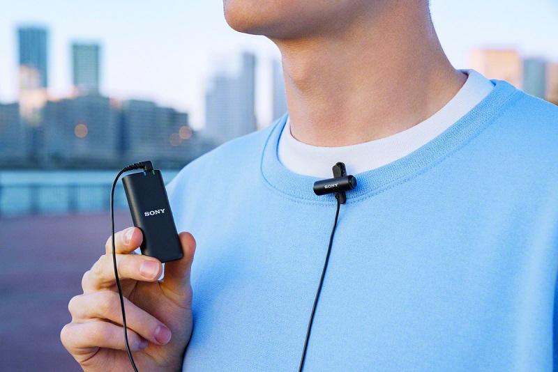 poza microfon wireless sony ECM-W2BT