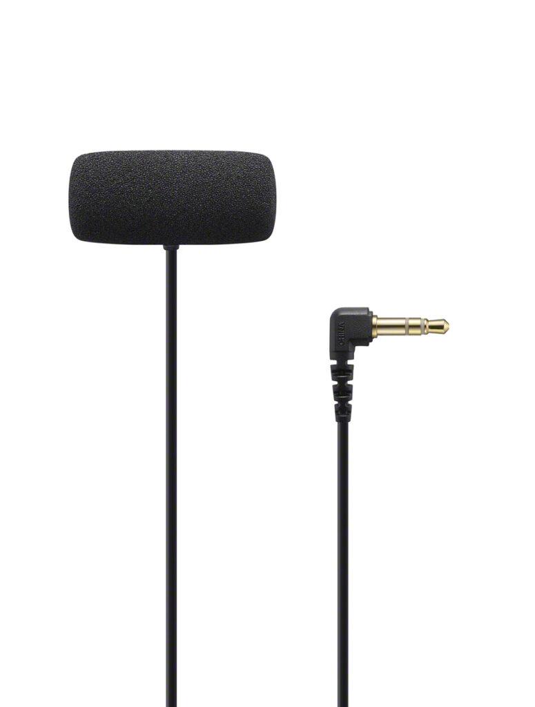 poza microfon lavaliera paravant sony ECM-LV1