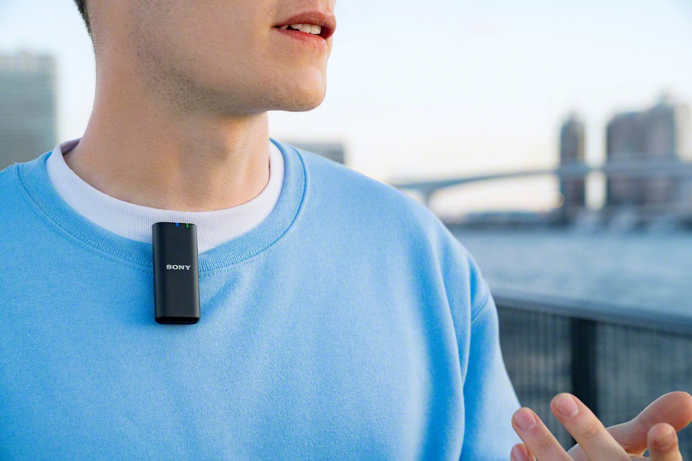 fotografie microfon extern wireless sony
