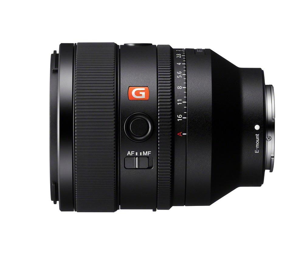 sony SEL50F12GM poza obiectiv mirrorless full frame montura e