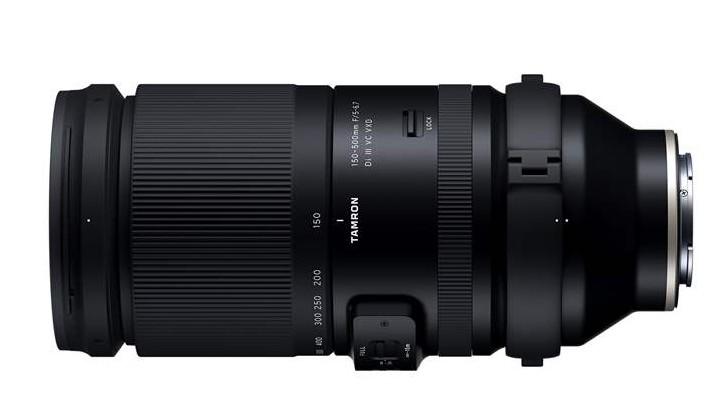 Tamron 150-500mm F5–6.7 Di III VC VXD fotografie zoom