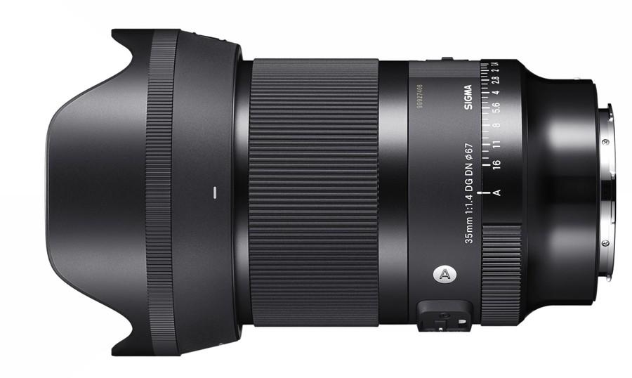 poza obiectiv SIGMA 35mm F1.4 DG DN mirrorless full frame