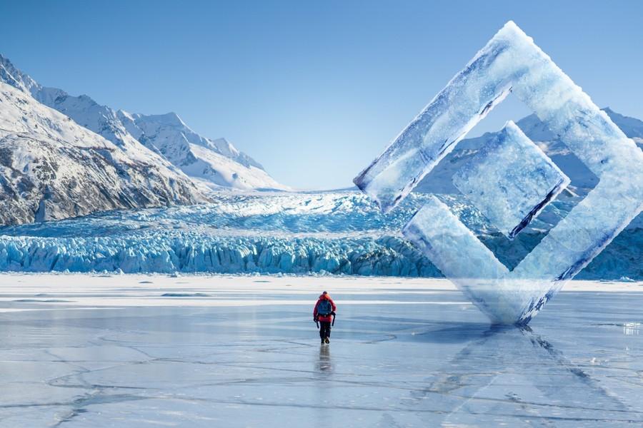 poza gheata calota polara epson  National Geographic