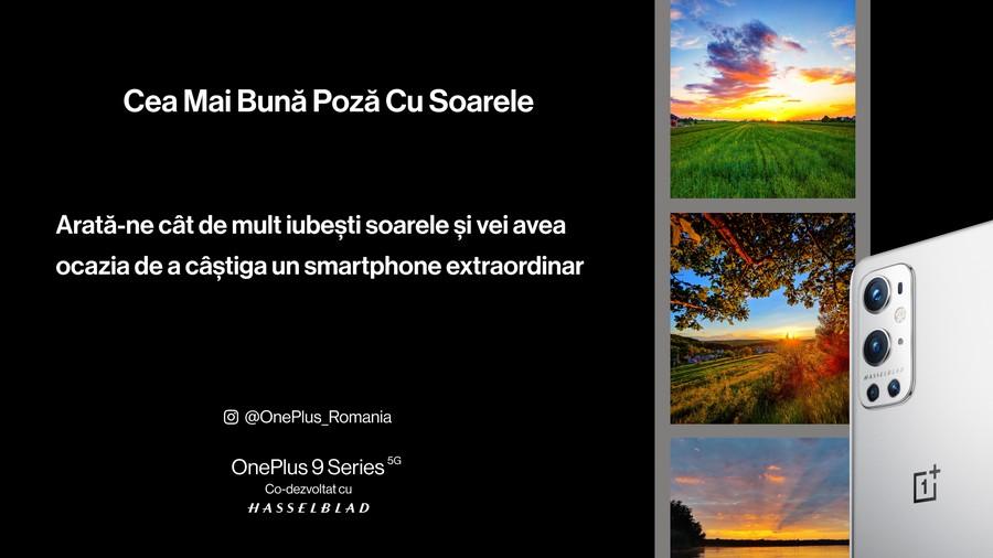 concurs foto soare premiu smartphone oneplus 9