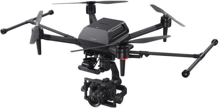 drona profesionala aparat foto mirrorless full frame poza