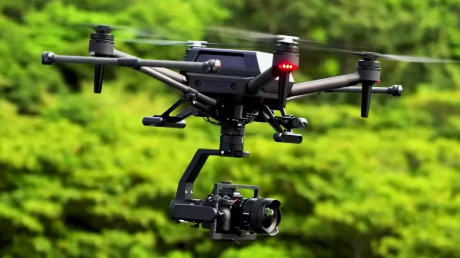 foto Sony AirPeak S1 drona camera full frame fotografie aeriana