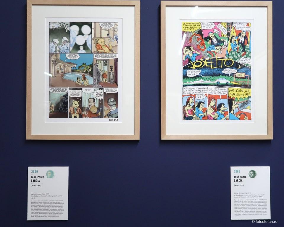 poza banda desenata spaniola expozitie bucuresti