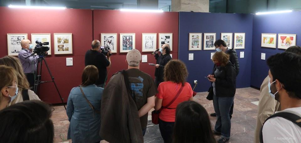 vernisaj expozitie laureati ai Premiilor Injuve