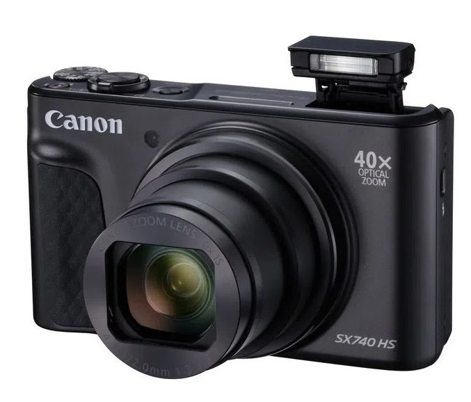 Canon PowerShot SX740 HS aparat foto compact zoom optic puternic