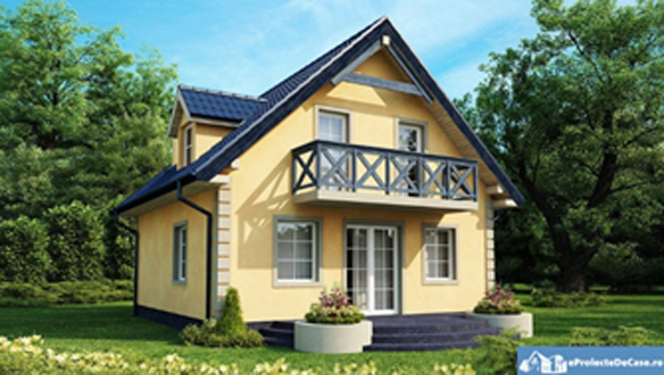 poza casa cu mansarda proiecte casa