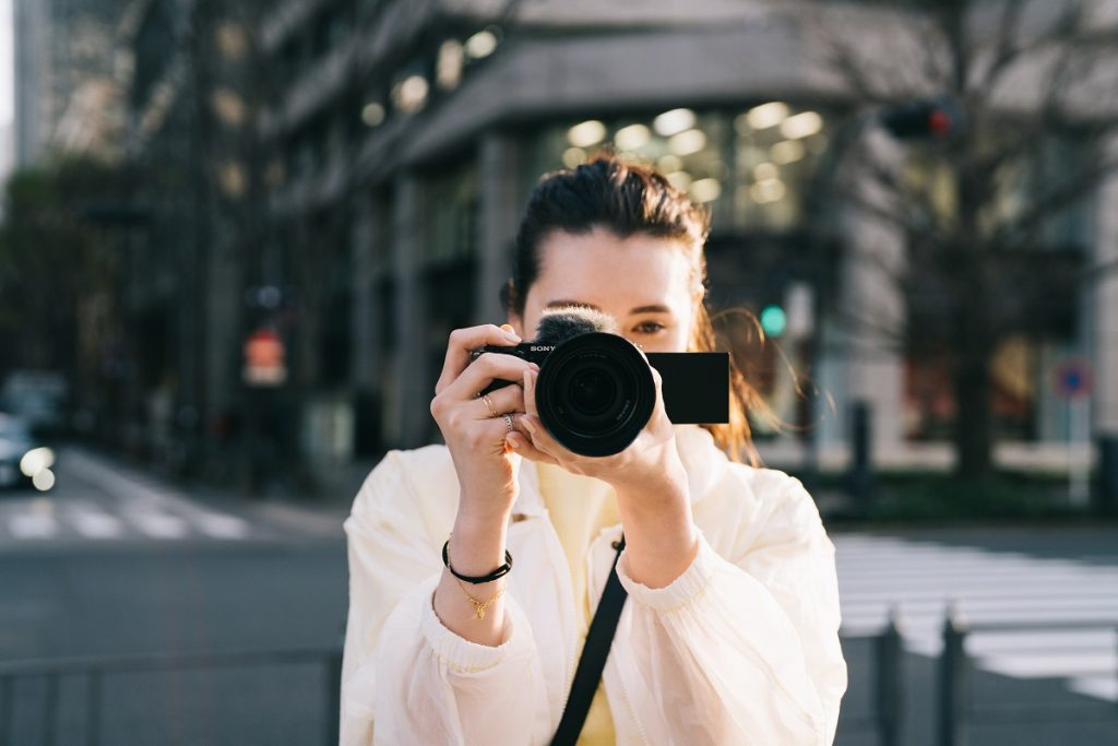 aparat foto video vlogging vlogger