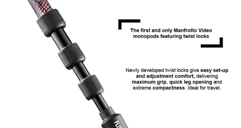 foto poza mecanism strangere monopied Manfrotto Element MII