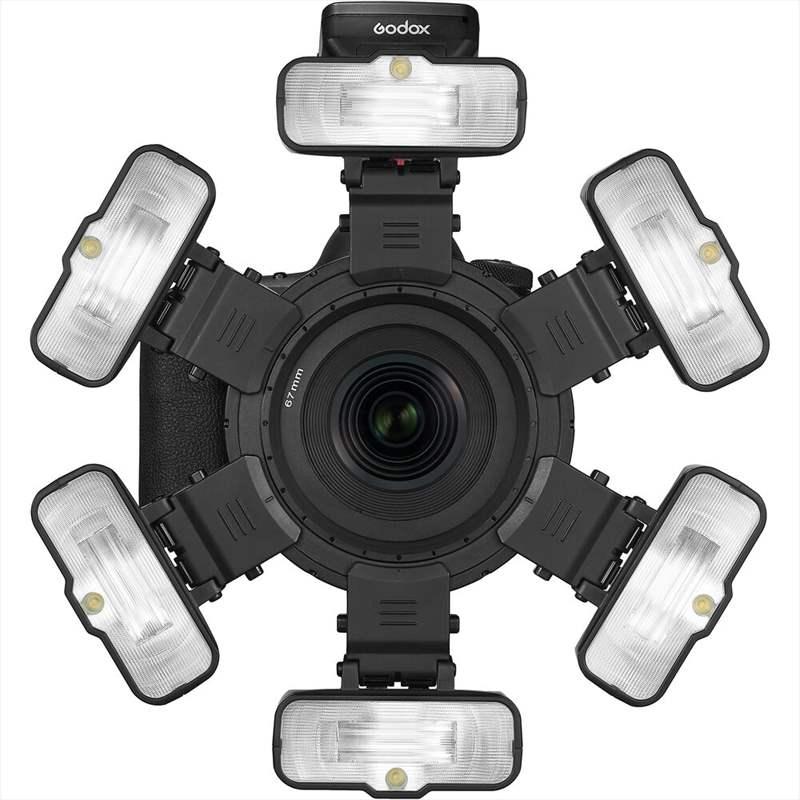 foto Godox MF12 lumini obiectiv macro fotografie