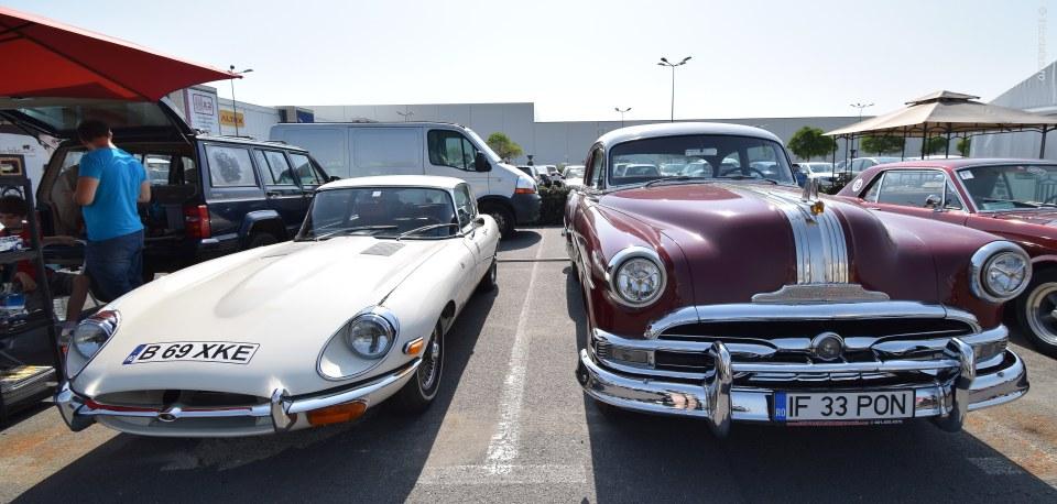 foto jaguar pontiac eight masini de epoca poze