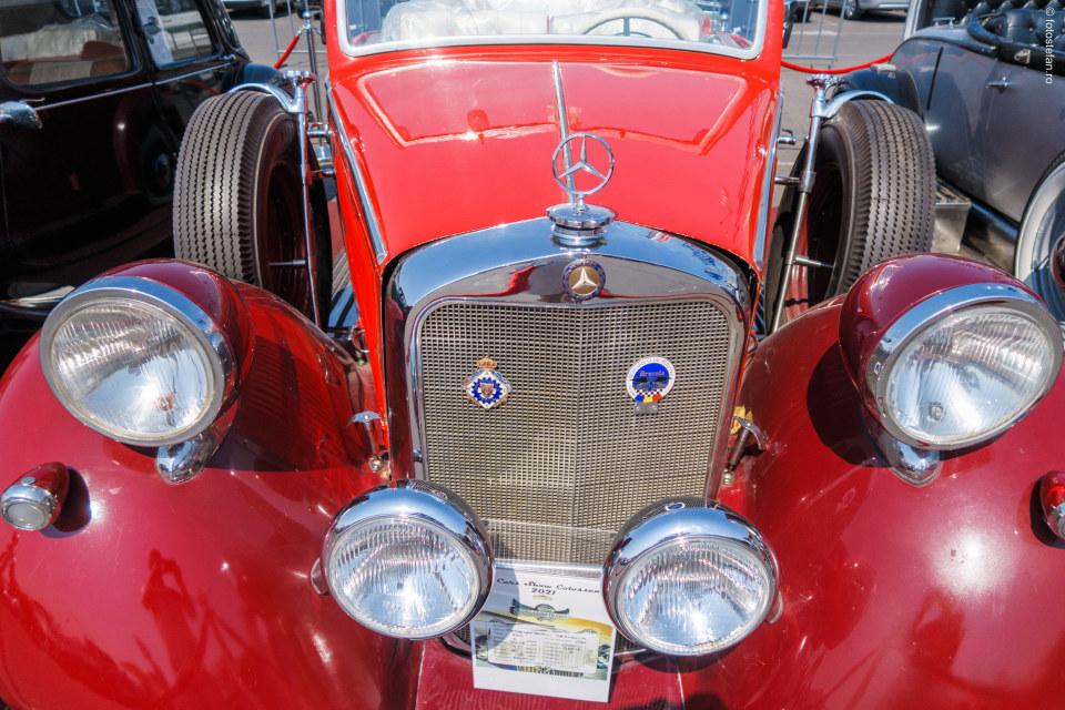 mercedes banes 230 cabrio poza masina istorica