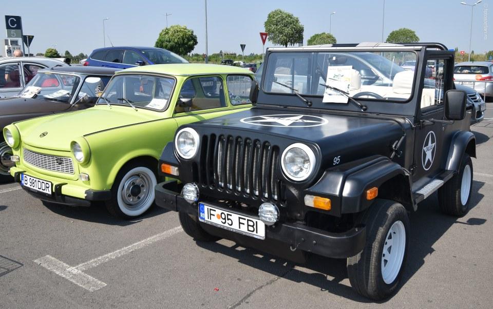 poza grandin dallas jeep masina de epoca fotografii