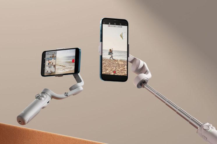 DJI OM 5 selfie stick gimbal smartphone