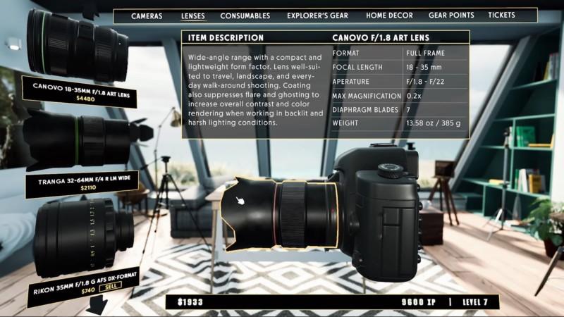 joc pc simulator aparat foto