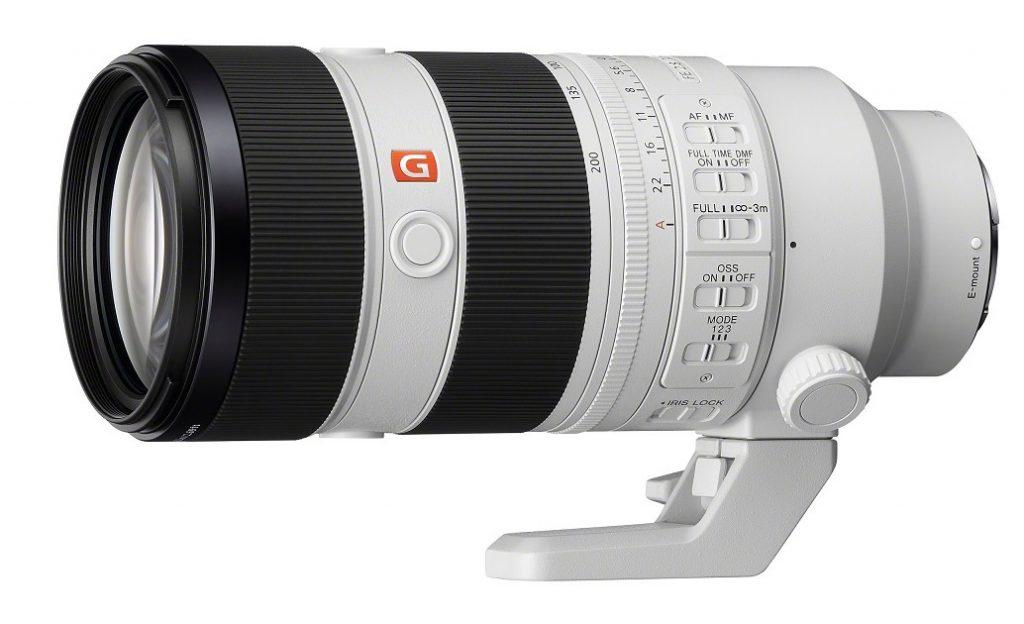 Sony FE 70-200mm F2.8 GM OSS II poza zoom mirrorless