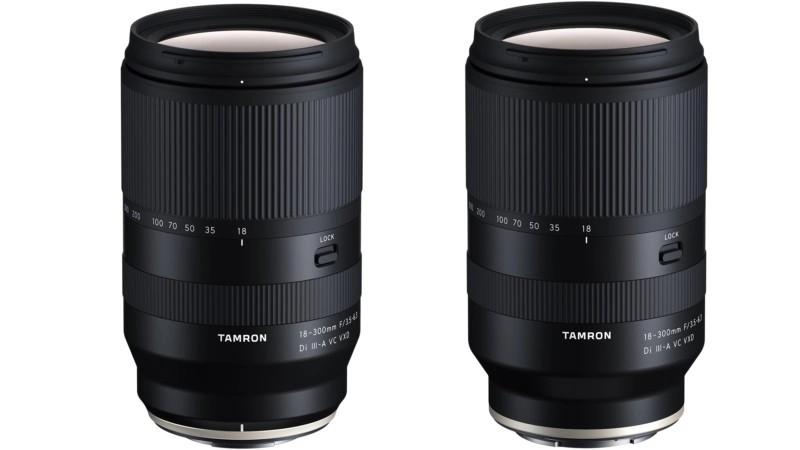 Tamron 18-300mm F3.5-6.3 Di III-A VC VXD obiectiv zoom sony fujifilm
