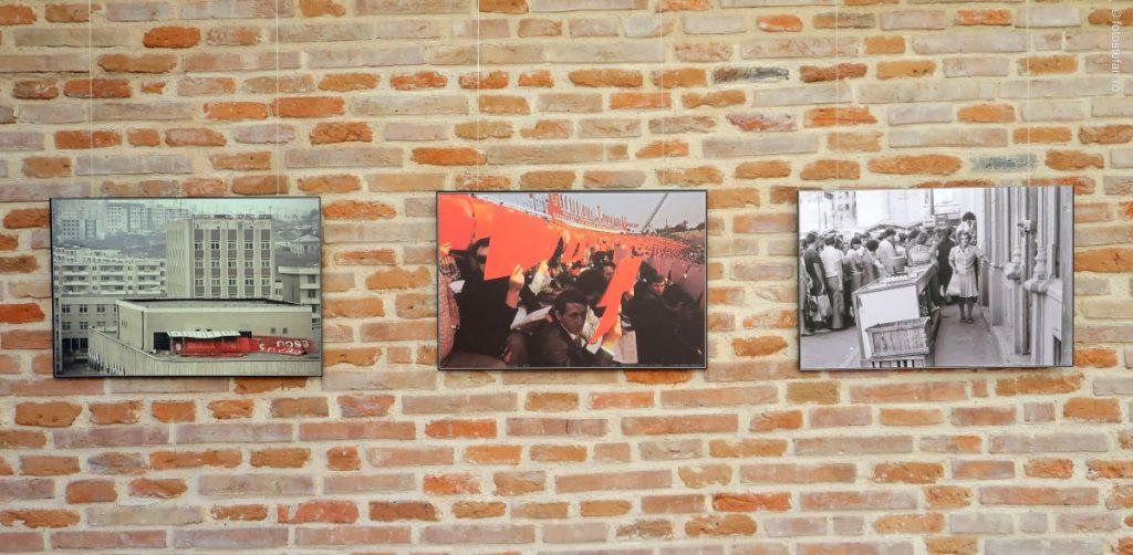 poze vernisaj expozitie Fracturi ideologice Fotografii Andrei Pandele