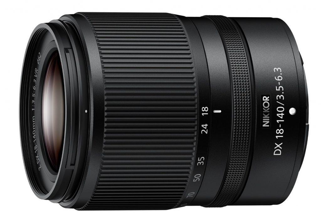 NIKKOR Z DX 18-140mm f/3.5-6.3 VR poza obiectiv zoom nikon z