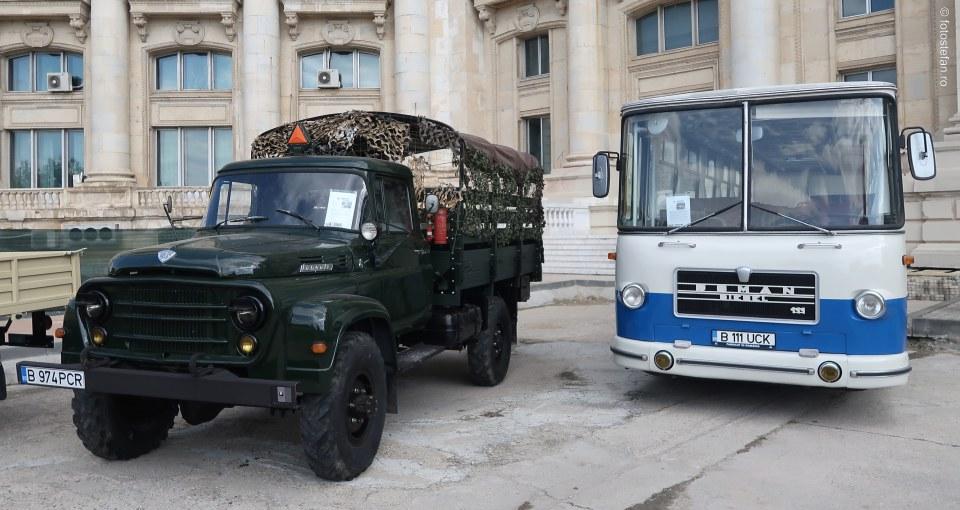 poza camion SR 132 M Carpati autobuz Roman RD111